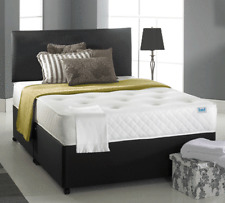 NEW MEMORY FOAM DIVAN BED SET WITH MATTRESS AND HEADBOARD 3FT 4FT6 Double 5FT