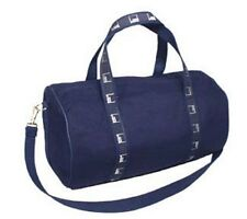 NEW Authentic Goldman Sachs Small Canvas Duffel Banker Bag - Navy