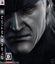 Used PS3 Metal Gear Solid 4   SONY PLAYSTATION 3 JAPAN JAPANESE IMPORT