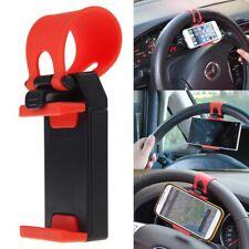Universal Mobile Phone - PDA Car Steering Wheel Mount Holder Cradle Stand UK