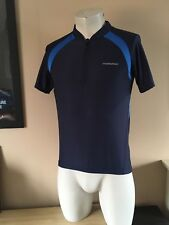 Muddy Fox Cycling Bike Short Sleeve Jersey T- shirt In Blue Size Small