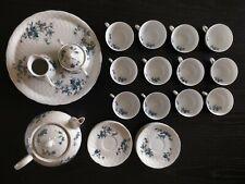BERNARDAUD B & Co Saint Saens ancien service à thé en porcelaine fine Limoges