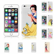 For iPhone Models PRINCESS Custom Cute Cartoon Gel Tpu Silicon Anime Case Cover
