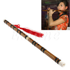 Music Lovers Soprano G Key Stripe Transverse Chinese Bamboo Flute New