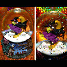 "2004 Target Witch Waterglobe 5.5"" Halloween decoration snow globe whimsical Rare"