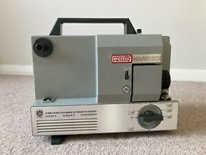 Vintage Eumig Mark 501 8mm/Super 8mm Cine Film Projector With Original Box Works