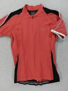 Gore Bike Wear 1/2 Zip Short Sleeve Cycling Jersey (Mens Large) Red