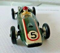Vintage SOLIDO COOPER 1500 cm3 suspension B SGDG Vert jouet ancien 1/43