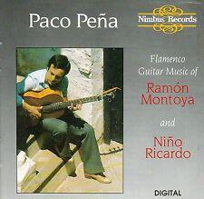 PACO PENA Plays Montoya & Richardo CD