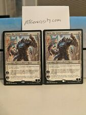 4x Karn, The Great Creator -  Rare Legendary Planeswalker- War of the Spark