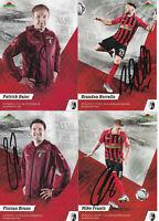 SC Freiburg - 2019/20, 16 Autogrammkarten mit Originalunterschrift!