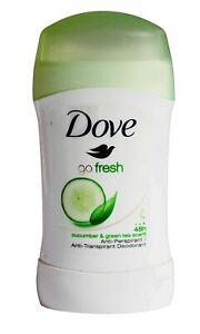 Dove Go Fresh Cucumber & Green Tea Antiperspirant Deodorant Stick 40 ml count 1