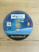 Singstar Singalong with Disney for PS2 *Disc Only*