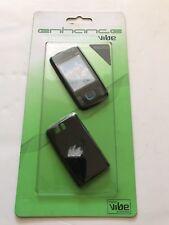 Nokia 6600 S-Full Fascia Housing Cover Front Arrière clavier de remplacement Noir