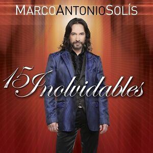 Marco Antonio Solis - 15 Inolvidables [New CD]