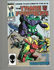 TRANSFORMERS #10 1985 Marvel Comic VF>NM 9.0