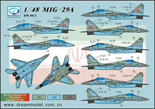 Decal for Mikoyan MiG-29A in Iranian Air Force,  DM0812, Dream Model, 1:48