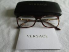 Versace brown tortoiseshell glasses frames. MOD 3186. With case.