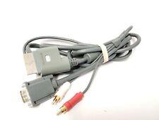 Microsoft Xbox 360 VGA Monitor AV Video Cable Cord X801257-100 OEM