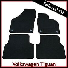 Volkswagen VW Tiguan Mk1 2007-2016 Tailored Carpet Car Floor Mats BLACK