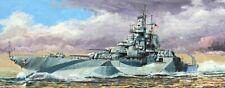 Uss West Virginia Bb-48 1945 Battleship 1:700 Plastic Model Kit TRUMPETER