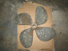 Bronze Propeller 4 Blades (looks to have been repaired/welded) *USED*