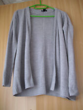 Damen-Strickjacke, Gr. M, grau