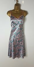 Ted Baker Green Pink Silky Summer Skirt Top 2 Piece Outfit Size 2 UK 10
