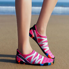 Women Barefoot Water Skin Shoes Aqua Socks Beach Swim Slip On Surf Yoga Exercise