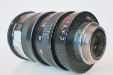 Sony TV Camera Zoom  LensFast F 1:2 focal Length 12.5-50mm. BRIGHT LENS
