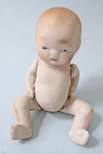 ANTIQUE ALL BISQUE BABY - MADE IN JAPAN - DOLL HOUSE SIZE