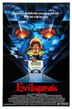G3182 Evilspeak Cunt Howard Movie Vintage Laminated Poster FR