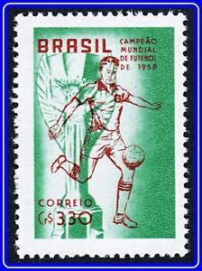 BRAZIL 1958 FOOTBALL CUP MNH SOCCER, SPORTS