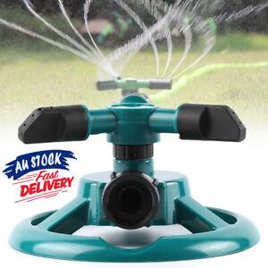 360° Rotating Water Sprinkler  Tool Sprayer Watering Garden  Grass Lawn
