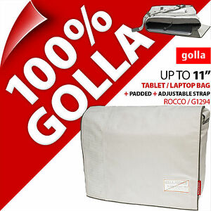 "Golla Tablet Laptop Netbook Bag Case Padded Strap For 11"" Fits 11.6"" 10.5"" 9.7"""