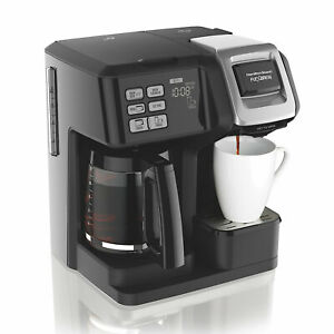 Hamilton Beach 49976 FlexBrew 2-Way Brewer Programmable Coffee Maker - Black