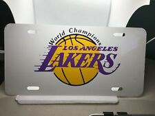 Los Angeles LA Lakers NBA Basketball Metal License Plate