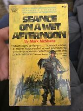 SEANCE ON A WET AFTERNOON BY MARK McSHANE Occult Odd Collectible Paperback Movie