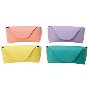 Pastel Diamond Grain Texture Semi-Hard Eyewear/Sunglasses Case w/Magnetic Button