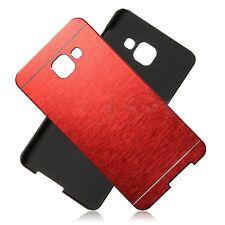 Coque Etui Housse Rigide  Aluminium Rouge Red Samsung Galaxy A3 2016