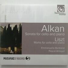 Alkan: Cello Sonata etc. / Bertrand / Amoyel / Harmonia Mundi CD HMA 1951758