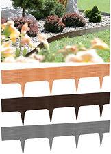 Gartenpalisade Weidenzaun Rasenkante Beetumrandung Beeteinfassung Beetabgrenzung