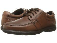 Nunn Bush Men's CARLIN Moc toe oxford Leather Brown Shoes 84562-200
