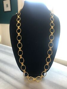 Gold Plated Loop Link Chain
