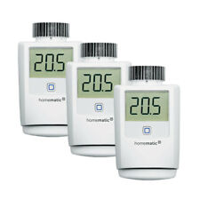 Homematic IP 3er Set Heizkörperthermostat HMIP-eTRV-2 für Smart Home / Hausautom