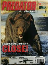 Predator Xtreme June 2016 Calling Bears Handgun Close Coyotes FREE SHIPPING sb