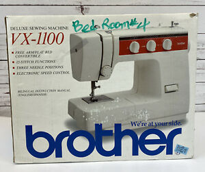 Brother VX-1100 Deluxe Sewing Machine 15-Stitch Functions NEW in Box NOW