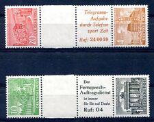 BERLIN 1949 SZ5-6 ** POSTFRISCH TADELLOS ZUSAMMENDRUCK 380€(S0190
