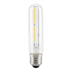 LED Filament Edison Bulbs E27 Flute Tube Type Vintage Bulb Home Cafe Bar Use