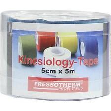 PRESSOTHERM Kine-Med-Tape 5 cmx5 m blau 1 St PZN 6332677
